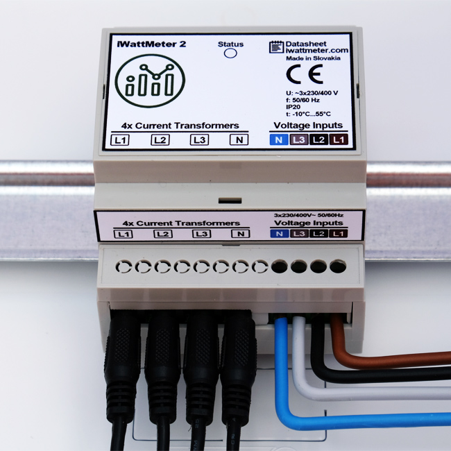 iwatt meter installed energy meter watt analytics